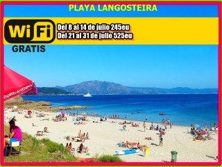 PLAYAS Y COMERCIOS CERCA+VISTAS-DESDE 250E/SEMANA, Finisterre