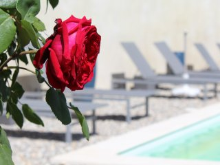 La Boheme gite de charme avec piscine Elvire