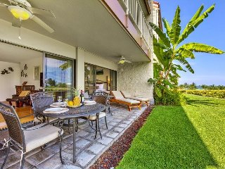Ocean and Golf Course Views From Upgraded Unit! Keauhou Punahele B102, Kailua-Kona
