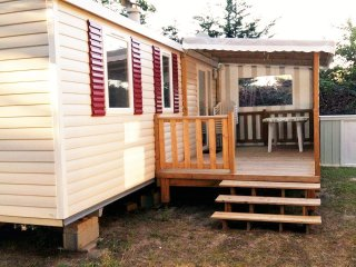 location mobil home à Saint de monts en Vendée