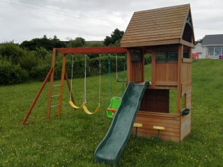 Swing set for the younger kids up to 10yrs old.