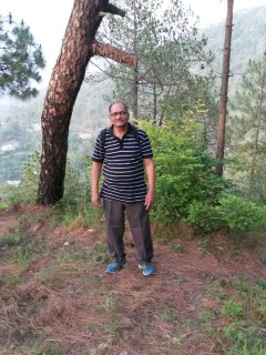 Our Guest Dr. Vinod Agrawal from Delhi who stayed in Solan Valley View Deluxe Suite.