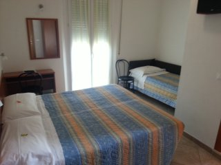 Quadruple rooms in Hotel close to the Beach in Rim, Rivazzurra