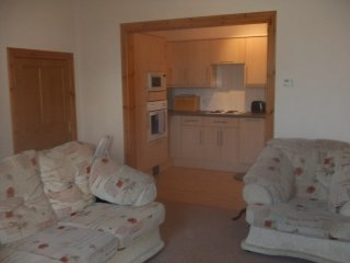 Dumfries towncenter One bed ground floor apartment