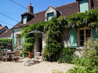 Loire Valley Farm Cottage for 4/5 in quiet location nr vineyards and Chenonceau