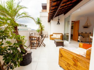 Ipanema Penthouse Beach Block 6 bedroom Serviced