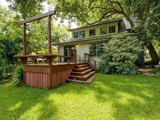 Wooded Mid-Century Home Steps from South Congress, With Big Back Deck