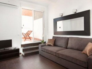 Sagrada Familia Penthouse apartment in Eixample Dreta with WiFi, air conditionin