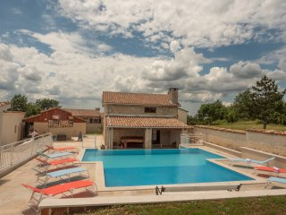 NEWLY BUILT STONE VILLA WITH SWMMING POOL, Pazin