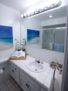 Private Master Bathroom with Large Closet