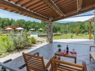 Villa eco-friendly 8+2 con piscina esclusiva, Seggiano