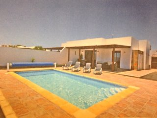 Private Villa with stunning Mountain views, Playa Blanca