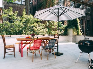 True find 1BR in West Village with private patio