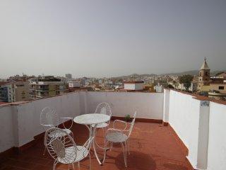 Spacious flat with 360° views of Malaga, Málaga