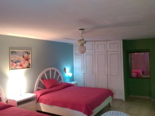 2 big beds condo, center of town