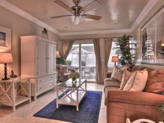 $129 June  Special!  Coastal Condo 1 Block to Beach & Pier in Pier Bowl.