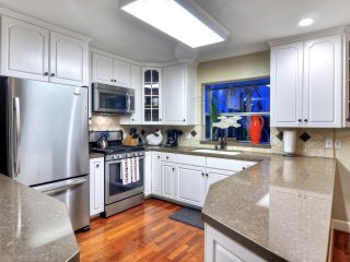 New kitchen has everything you need for your family gathering.