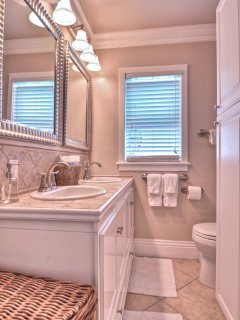 Beautiful Double Sink Bathroom