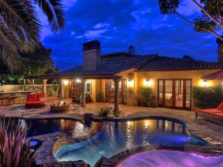 Gorgeous Carlsbad Dream Home with Pool, Kiddie Pool, Water Slide & More!