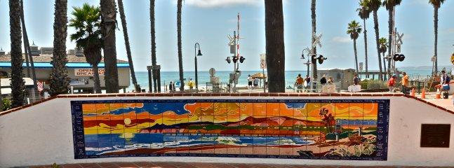 A mosaic of the beach...at the beach!