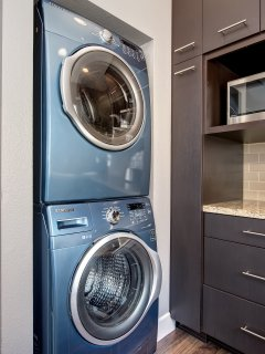 Washer and dryer provided.