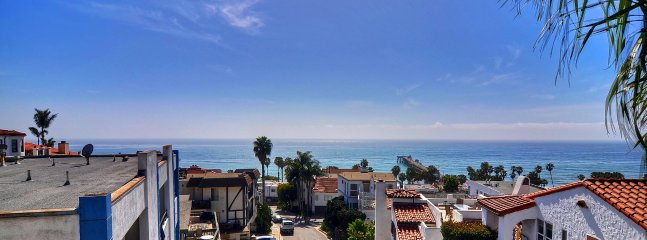 Incredible ocean and pier views from top deck