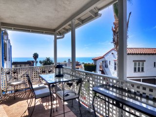Enjoy the view from deck along with extra seating