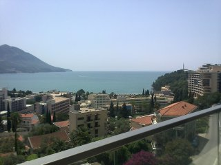 Beautiful sea view apartment, Becici