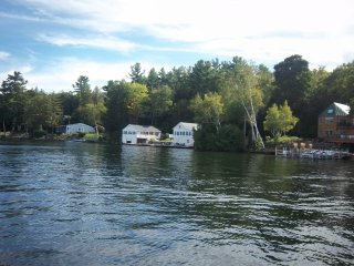 WATERFRONT FAMILY COMPOUND SLEEPS 16 MILLION $VIEW, Sanbornton