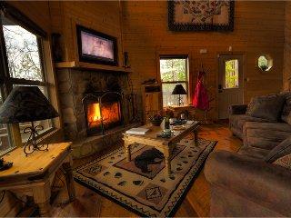 Open spacious living space