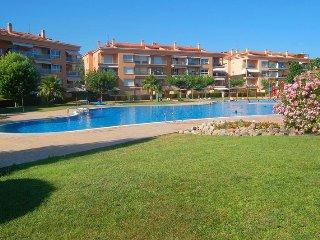 Magnifico apartamento de 93m2, con piscina y tenis, Platja d'Aro