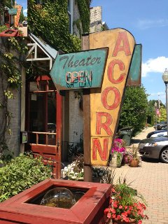 The Acorn Theater in Three Oaks always has something fun going on!