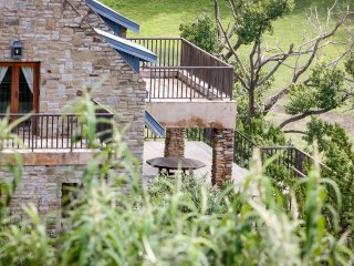 The house is located on a 1400ha private eco nature and trout estate.