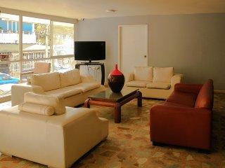 Apartamento con balcón y vista al Mar 204KA, Santa Marta