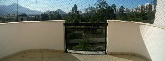 external balcony screened