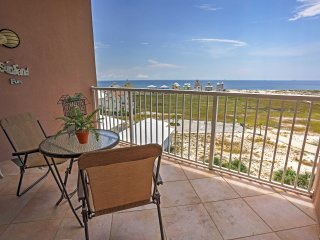 New Listing! Vibrant 1BR West Gulf Shores Condo w/Wifi, Private Balcony & Stunning Ocean Views - Situated on the Peaceful Fort Morgan Peninsula!
