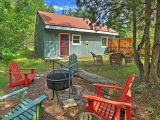 New Listing! 'Creekside Cottage' 2BR Cabin Nestled in Woods Between Ouray & Ridgway - Peaceful Creekside Location w/Serene Nature Views, Outdoor Fire Pit & Grill - Close Proximity to Area Attractions!