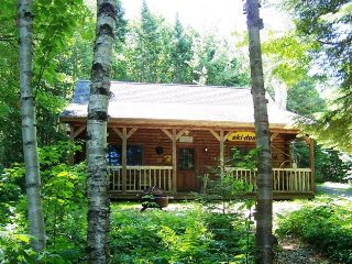 #105 A private `North Woods` log cabin, Greenville