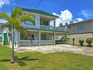 Elegant 4BR Aguadilla House w/Wifi, Private Balcony & Beautiful Location - Direct Access to Beaches & Attractions!