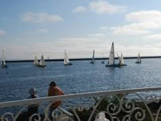 Sailing Oceanside.
