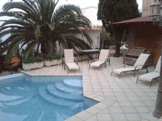 Appartement avec piscine vue mer
