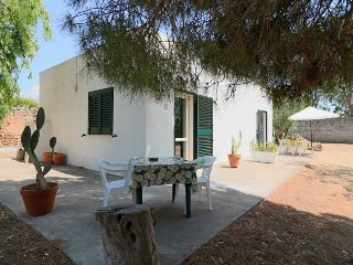 Holiday house air conditioned in Salento Apulia at Torre Sabea Gallipoli, about