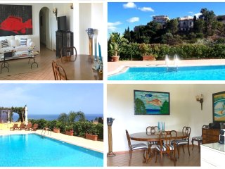 VILLA MATIS with Private Pool and View, Taormina