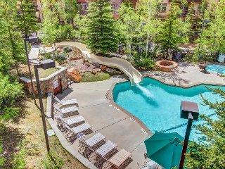 Ski-in/ski-out condo w/ deck & access to a pool, hot tub & more at Club Solitude