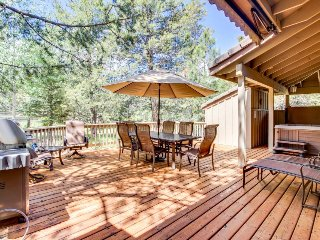 Sunriver home with private hot tub, resort amenities, SHARC access!