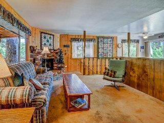 Charming and rustic dog-friendly mountain cabin right on Foster Lake Meadow