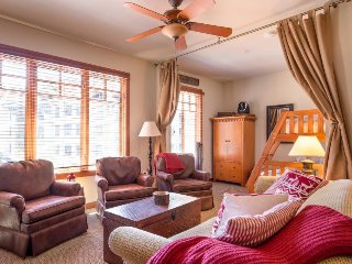 Ski in / Ski out - mountain resort condo next to lifts w/ shared hot tub/sauna