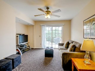 Dog-friendly with yard, private patio, & BBQ. Just a short walk to the beach!