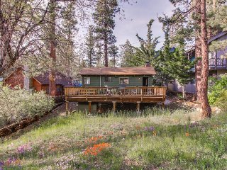 Dog-friendly, adorable mountain home with yard, great location, Big Bear Region