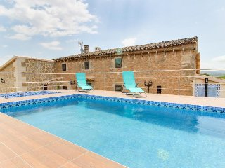 Restored villa with private pools, large garden & terraces in the countryside, Son Serra de Marina